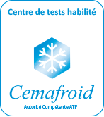 Centre de tests habilité Cemafroid